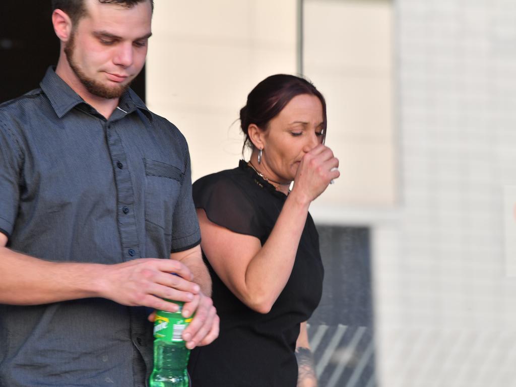Jessica Ann Witherington leaves court. Photo: John McCutcheon / Sunshine Coast Daily