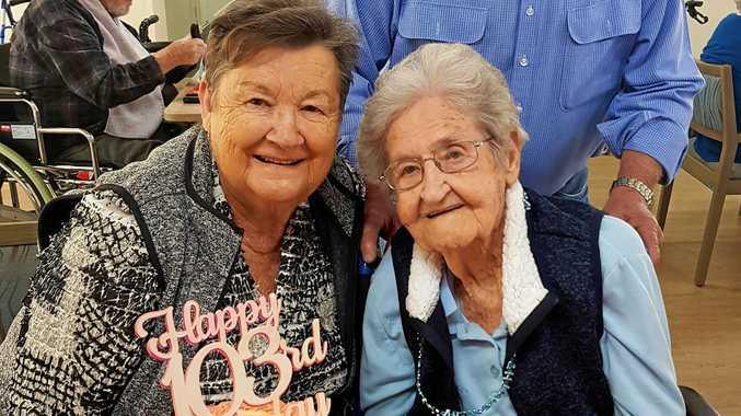 Former dairyfarmer blows out 103 birthday candles