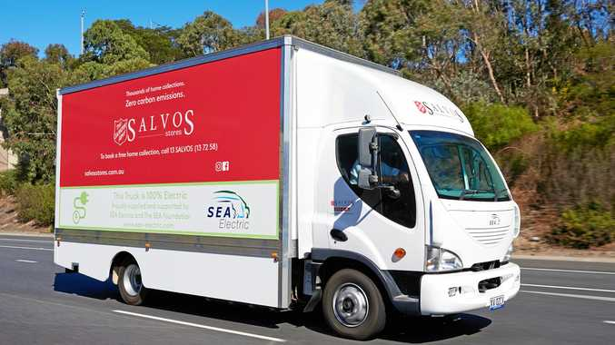 Salvos get truck from EV pioneer
