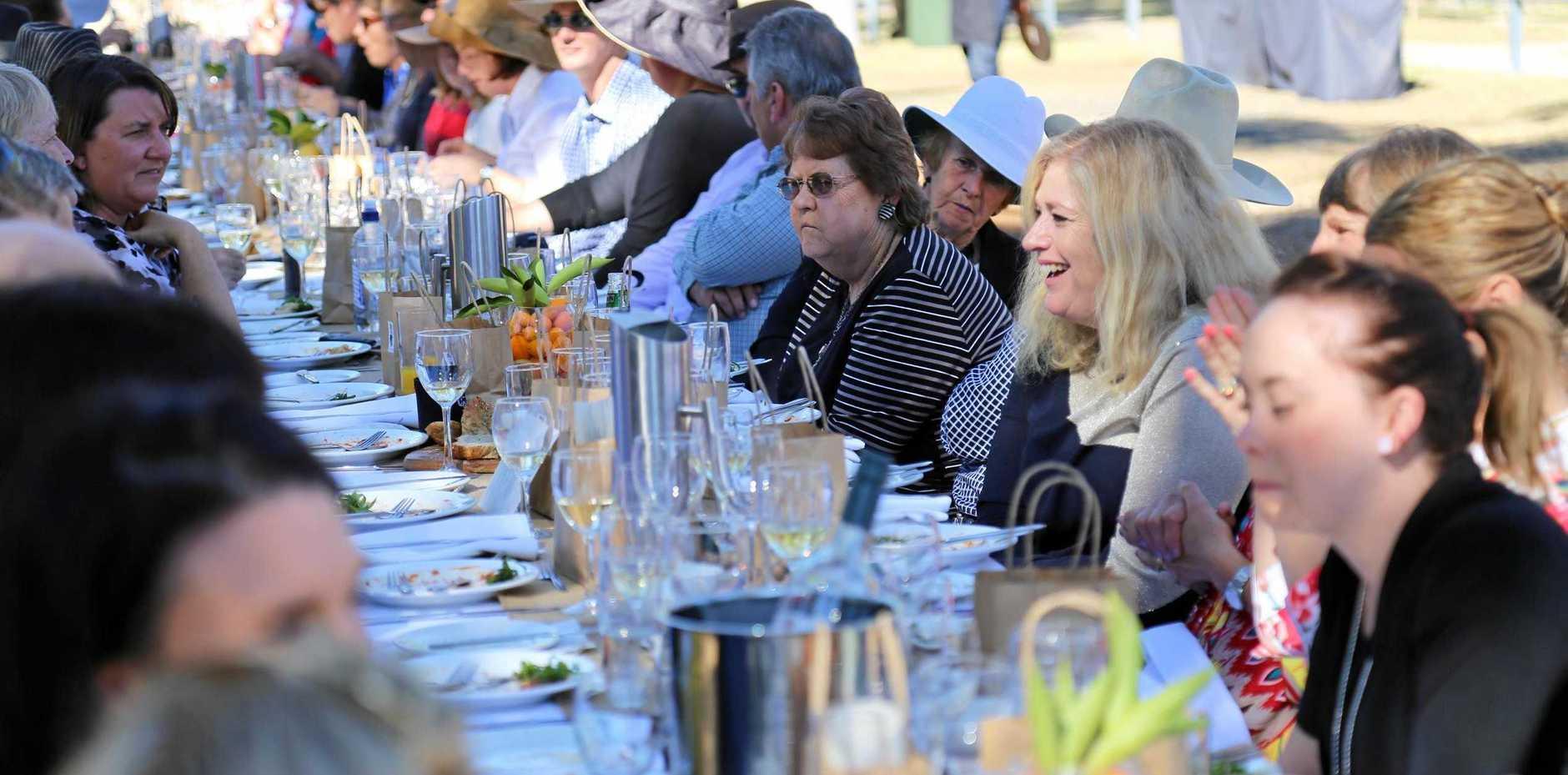 FRESH: Heartland Festival's 2016 'Long Table Lunch'.