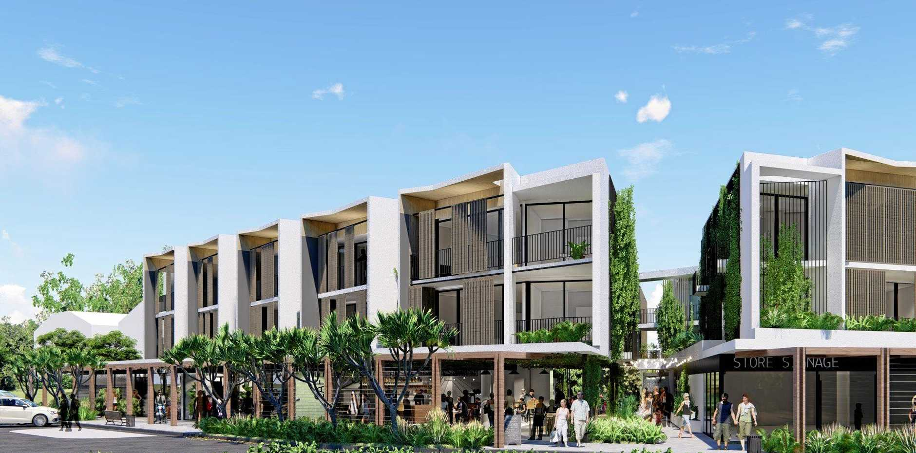 RE-THINK: The new three story mixed use development planned for Jonson Street Byron Bay.