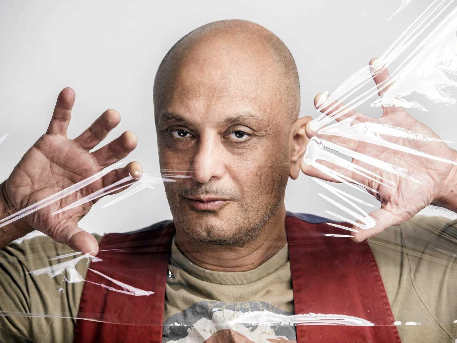 SUCCESSFUL: Akmal Saleh is one of Australia's most popular comedians.