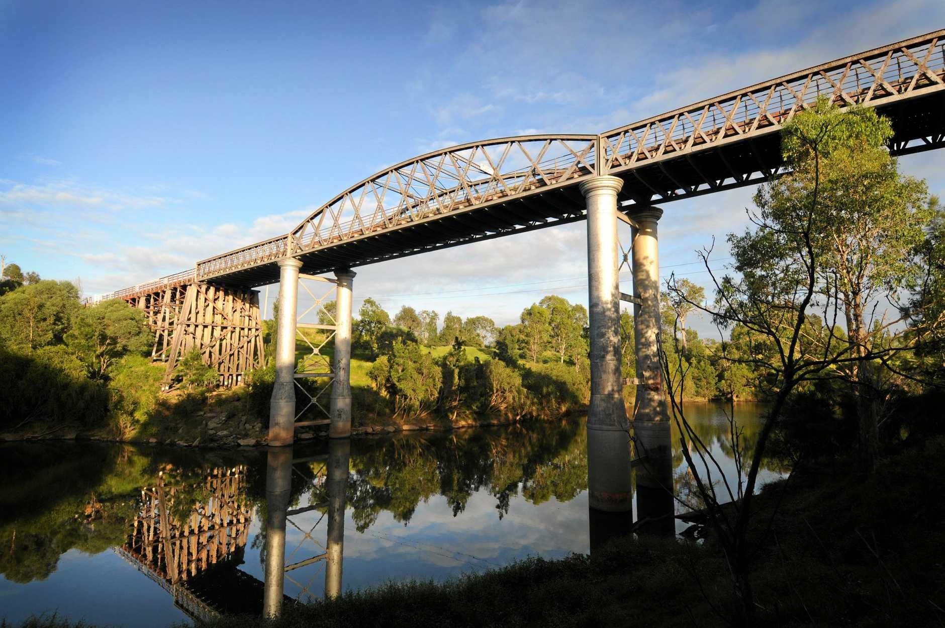 Miva is the home of the historic Dickabram bridge