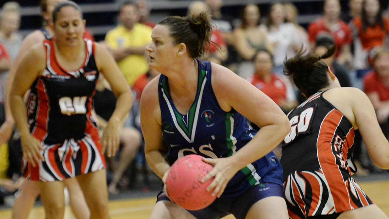 LEADING ROLE: Brothers Crimson goal shooter Juanita Hill will be a key player in Saturday's grand final showdown against Colts Divs.