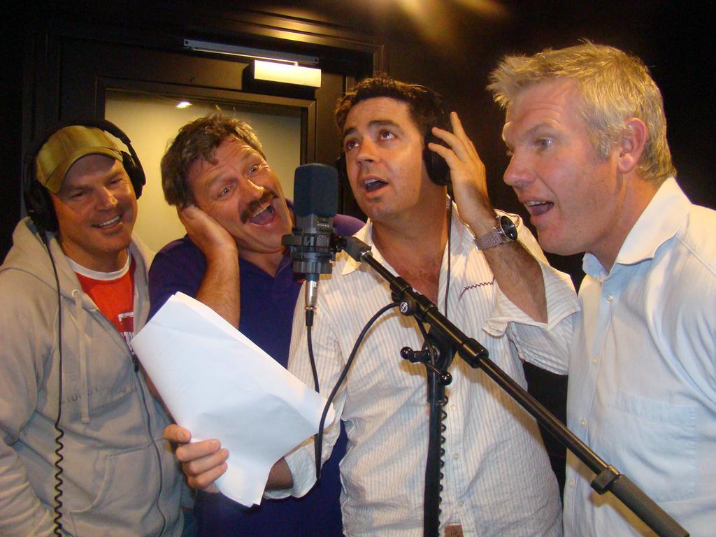 Jason Dunstall, Brian Taylor, Garry Lyon and Danny Frawley.