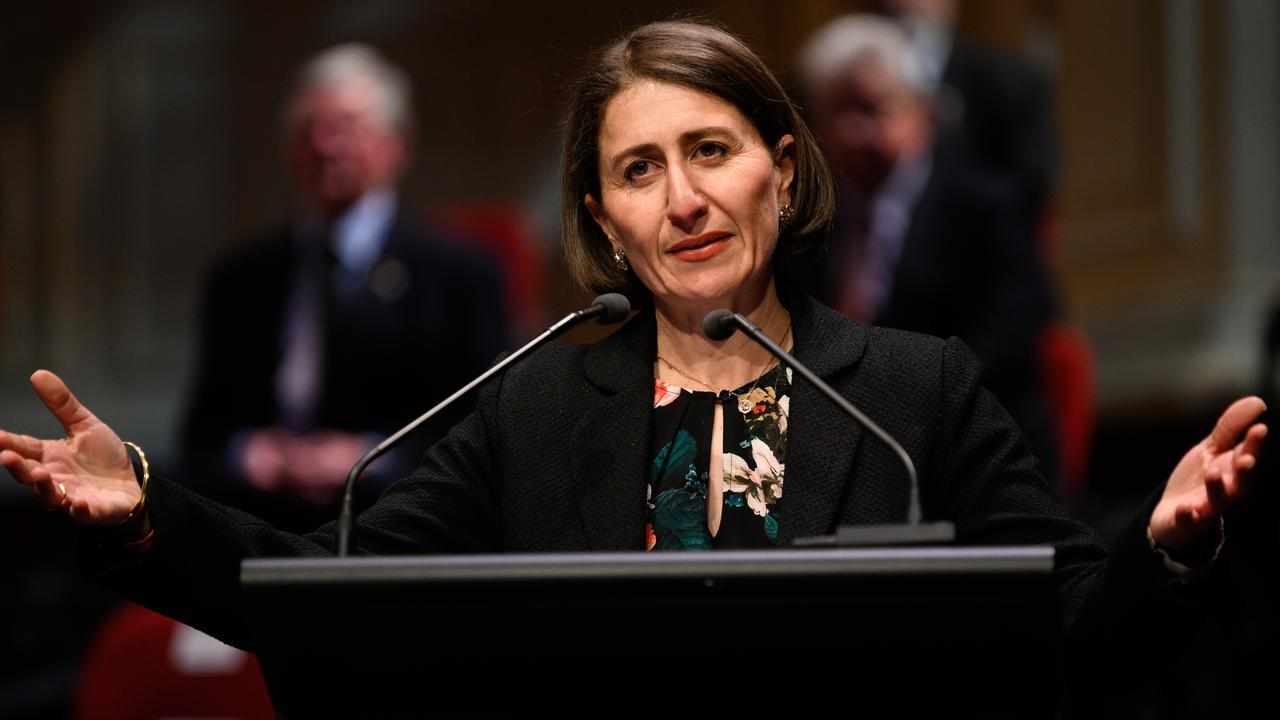 On Thursday Premier Gladys Berejiklian referred Sidoti to an inquiry. Picture: James Gourley