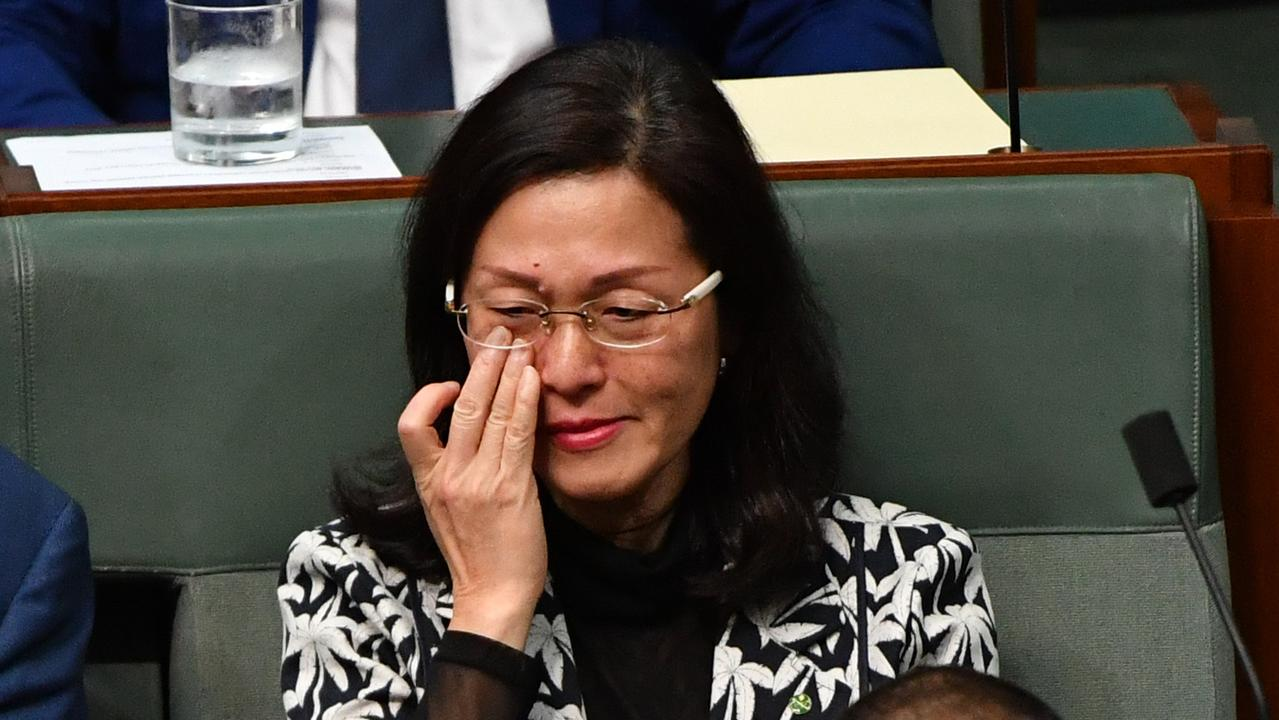 Home Affairs Minister Peter Dutton has come to the defence of Liberal backbencher Gladys Liu.