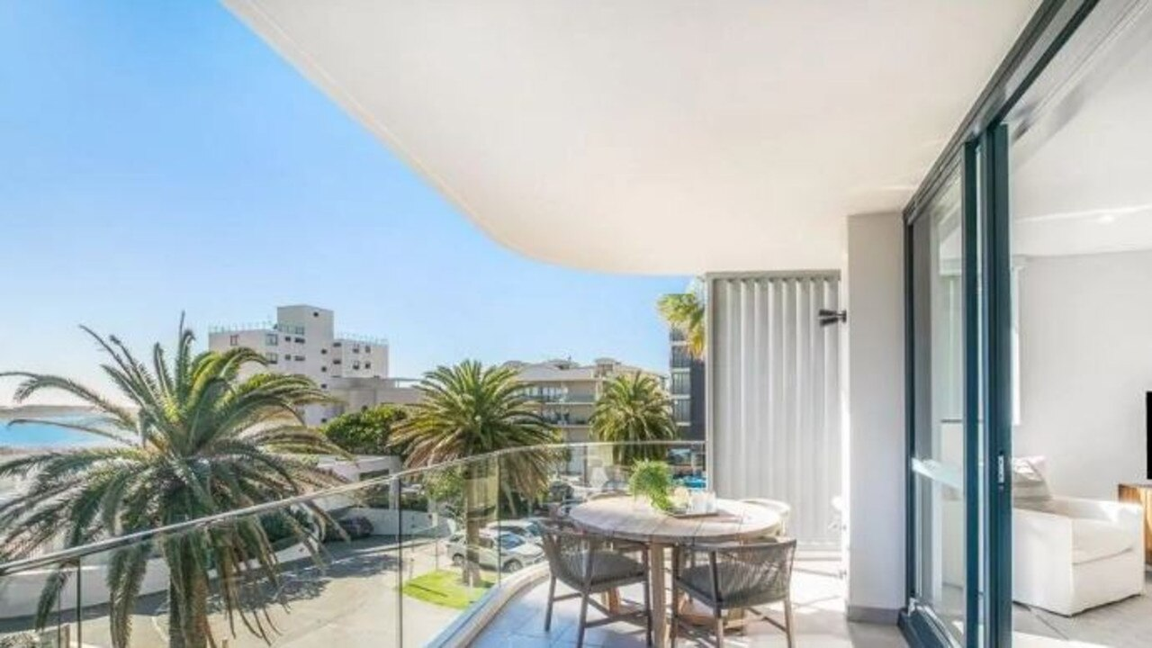 The luxury Cronulla apartment Kelsea Doyle sold for a massive loss.