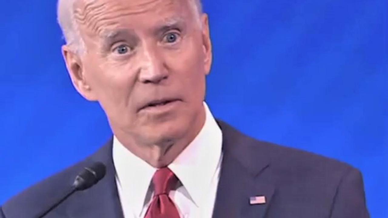 Joe Biden was the biggest target in today's Democratic debate. Picture: ABC News