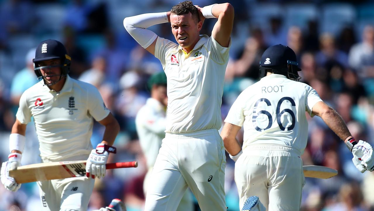 Peter Siddle had a day to forget after beating Mitch Starc to the final pace bowler's spot.