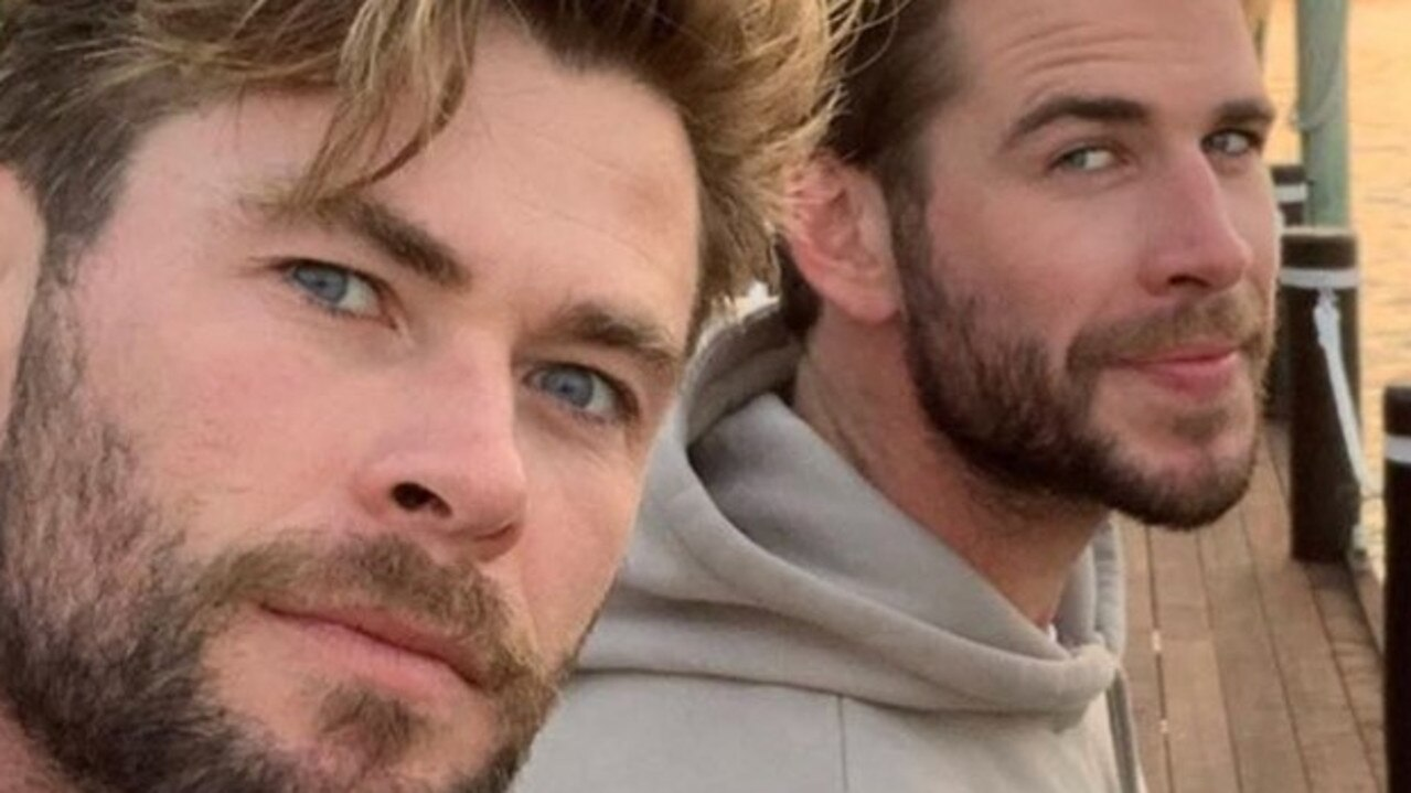 Chris and Liam Hemsworth have been spotted living it up at the Coast's famous Makepeace Island. Photo: Instagram