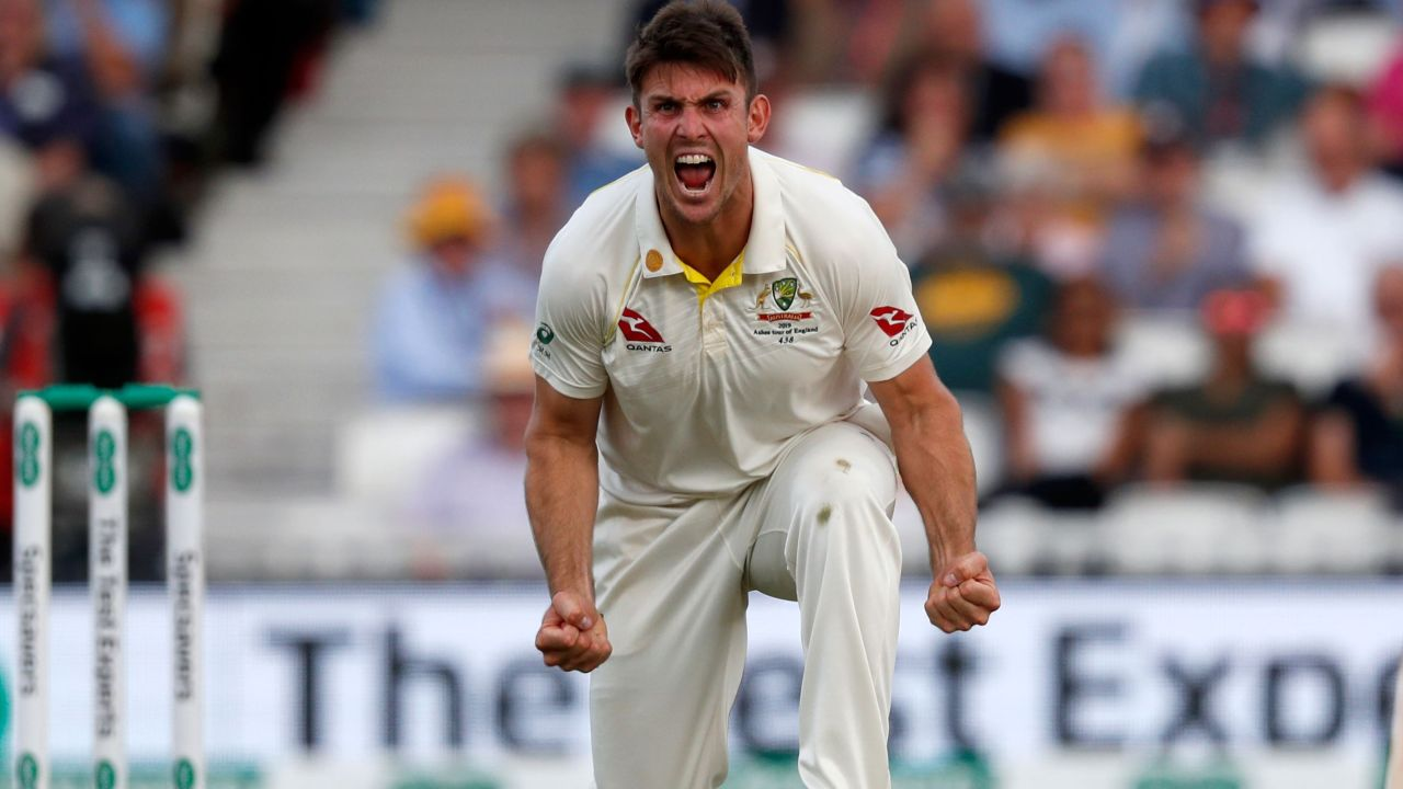 Mitch Marsh swung the match back to Australia.
