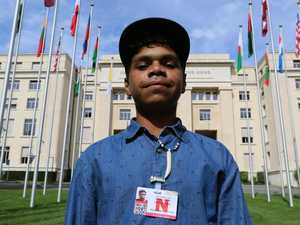 Centralian youngest person to address UN Council
