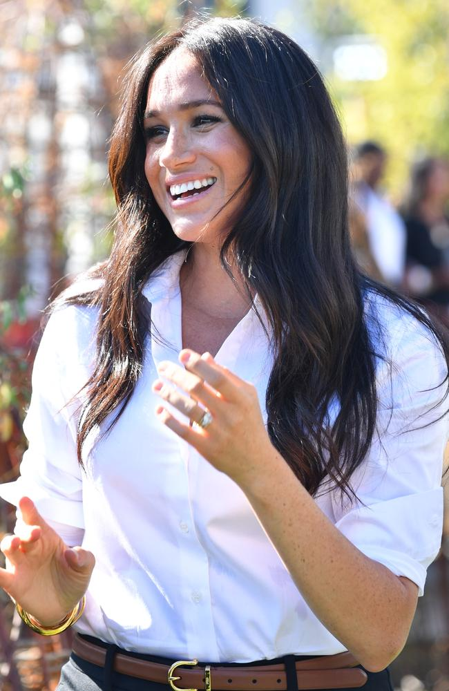 Meghan, Duchess of Sussex as she launches the Smart Works capsule collection on September 12, 2019 in London. Picture: Getty