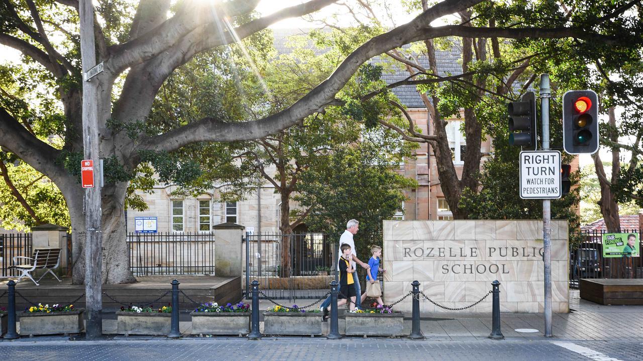 Rozelle Public School. Picture: Flavio Brancaleone