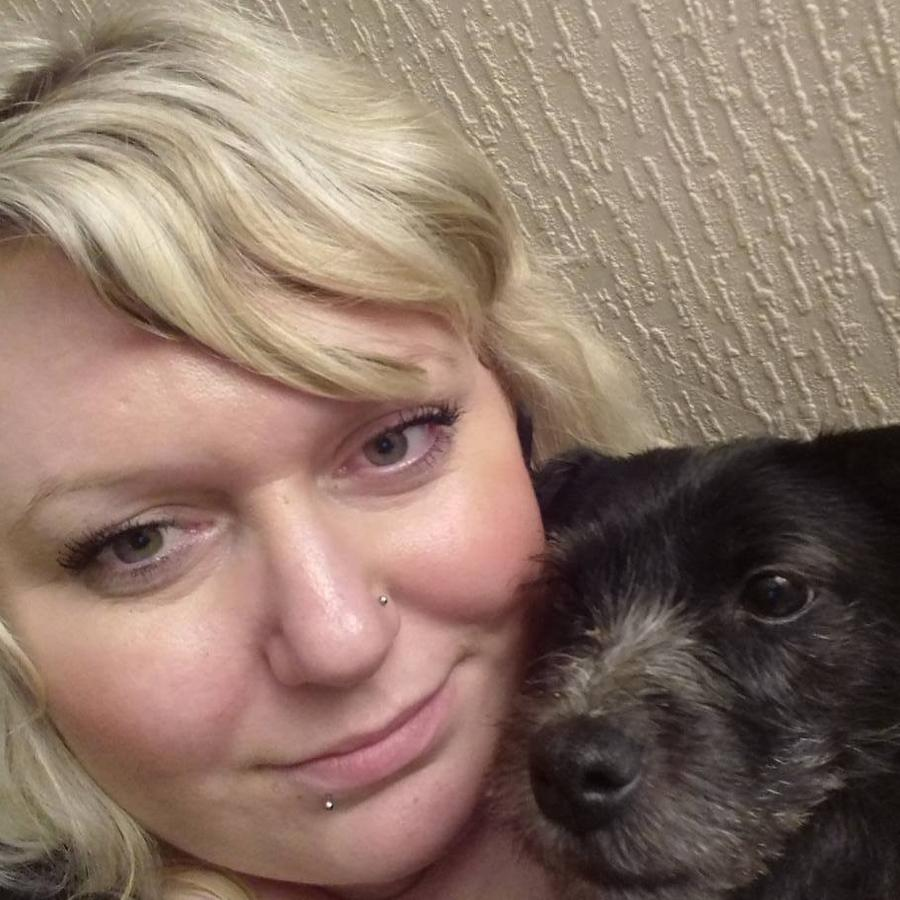 Ms Parratt suffers from anxiety and has a mental health support dog. Picture: supplied