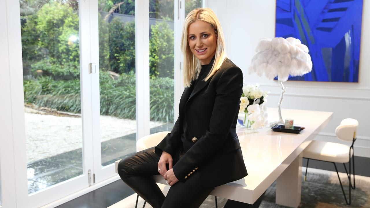 Roxy Jacenko photographed at her home in Vaucluse in Sydney. Picture: Britta Campion / The Australian