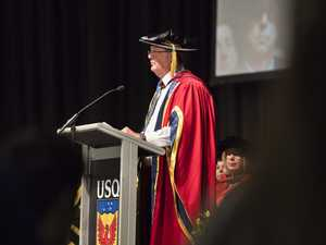USQ honours former top cop