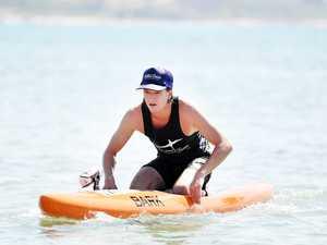 Old Women Ocean Paddle