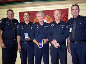 Local firefighters celebrate 50 years service