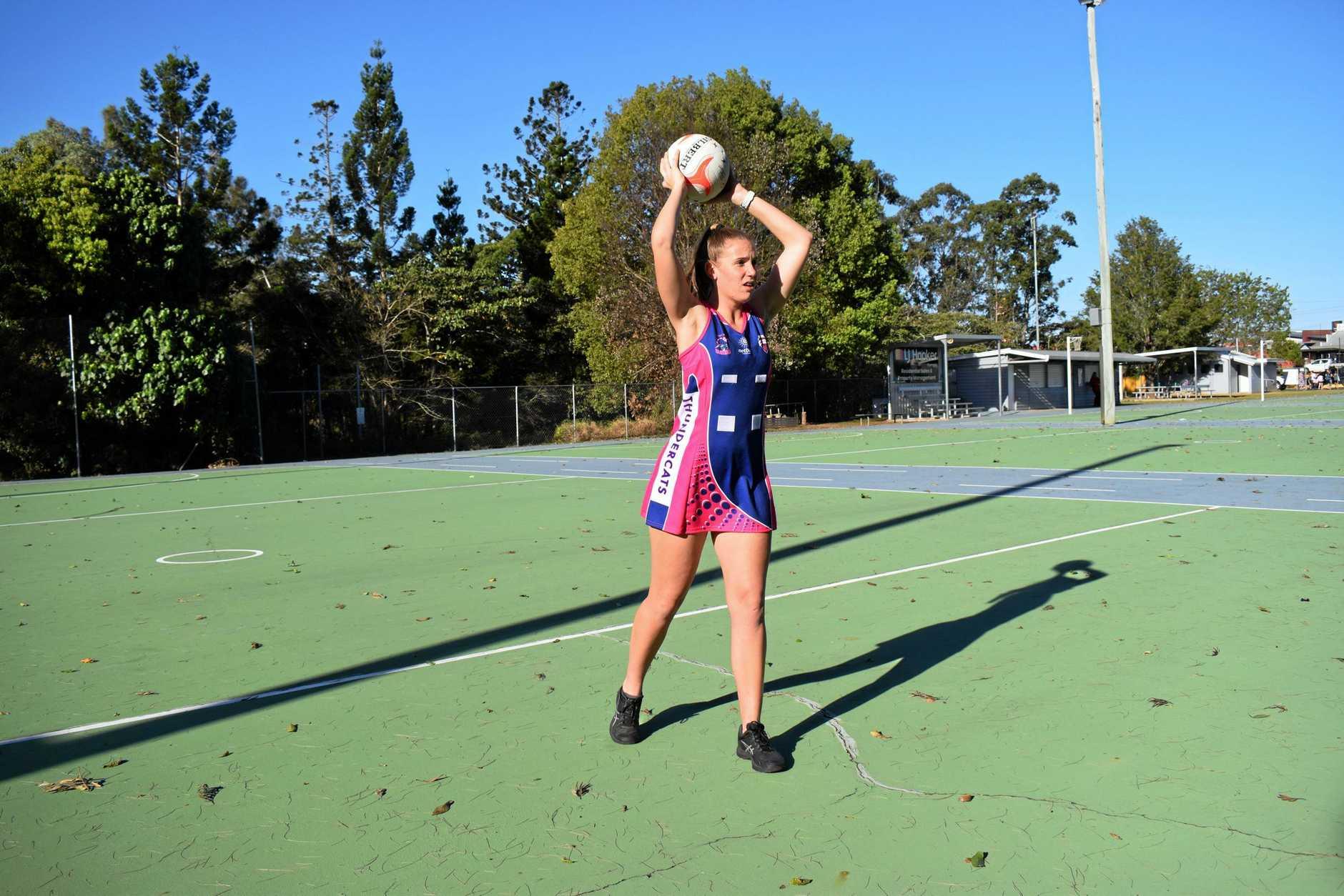 Gympie Netball - Breanna Pearce.