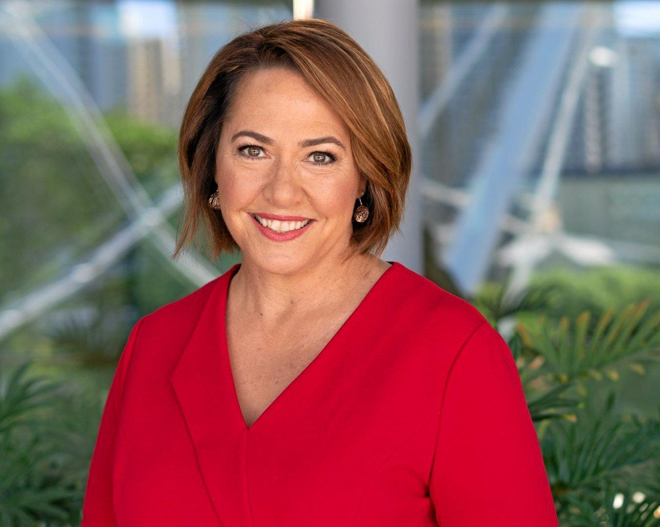 NEW ERA: Former Gympie Times cadet journalist Lisa Millar will take on one the country's major television news posts - as new co-host of  News Breakfast, from August.