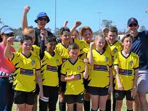 Teamwork makes the dream work at U13 football grand final