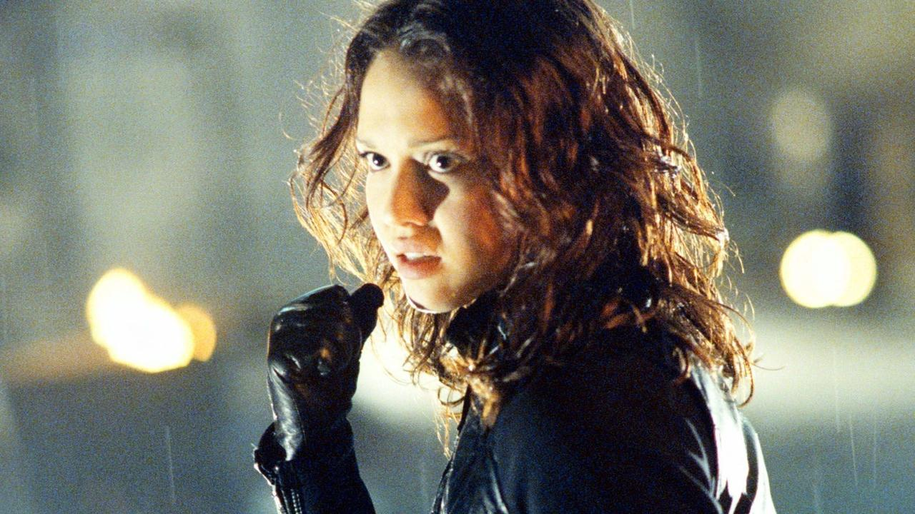 Jessica Alba in a scene from TV show Dark Angel.