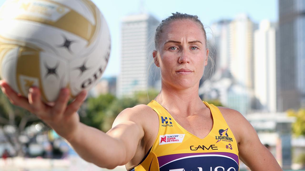 Sunshine Coast captain Laura Langman could be playing here final game for the Lightning. Picture: Jono Searle/Getty Images