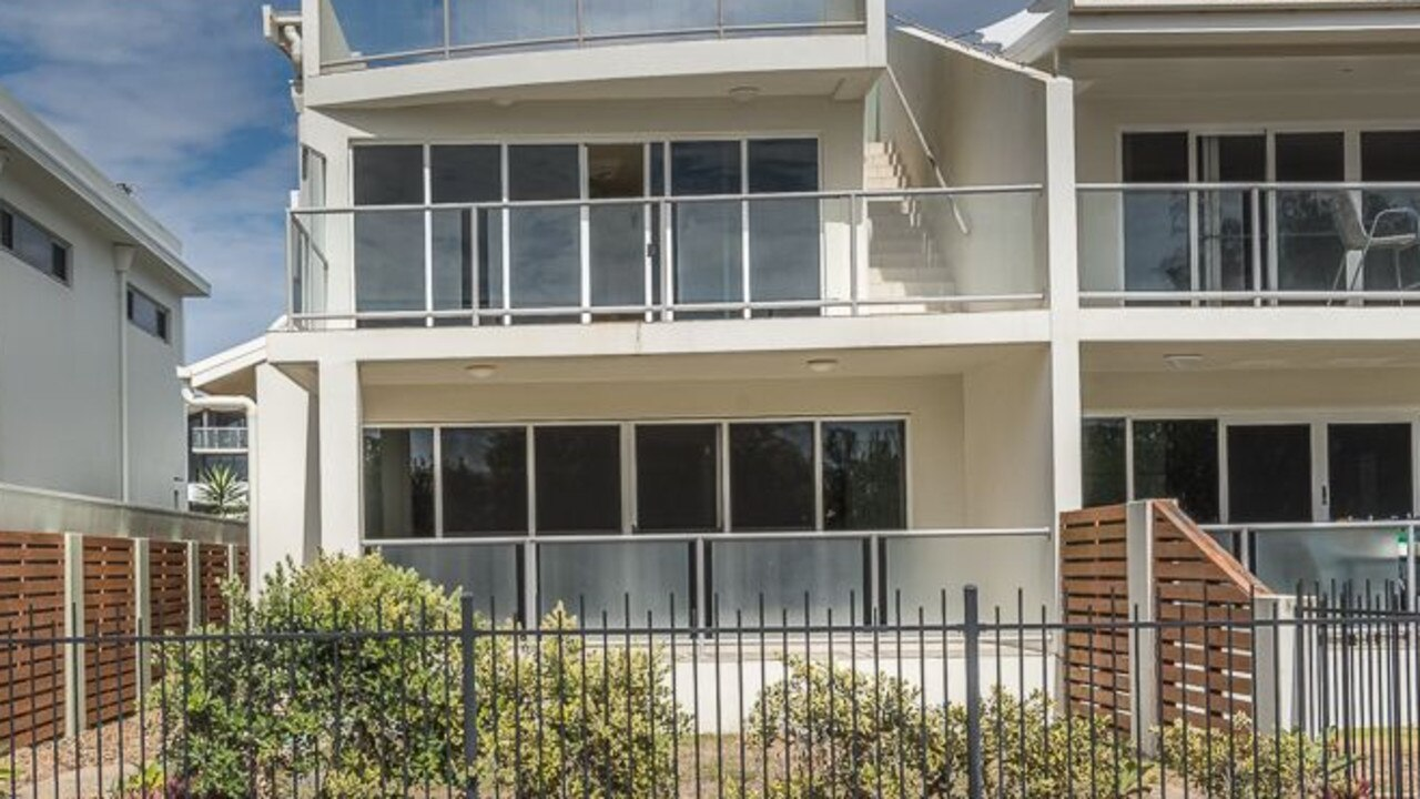 This townhouse which opens to the beach at East Point Dr, Mackay Harbour provides the lifestyle retirees are after.
