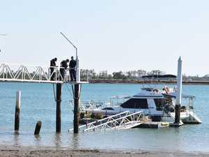 Pier collapse injures man