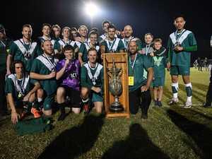 Soccer: Frenchville's winning team.