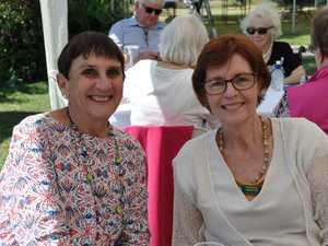 Barbara Webster and Helen Major at the U3A birthday