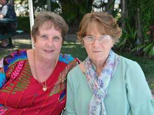 Glenda Lavender and Beryl Butcher at Waterline