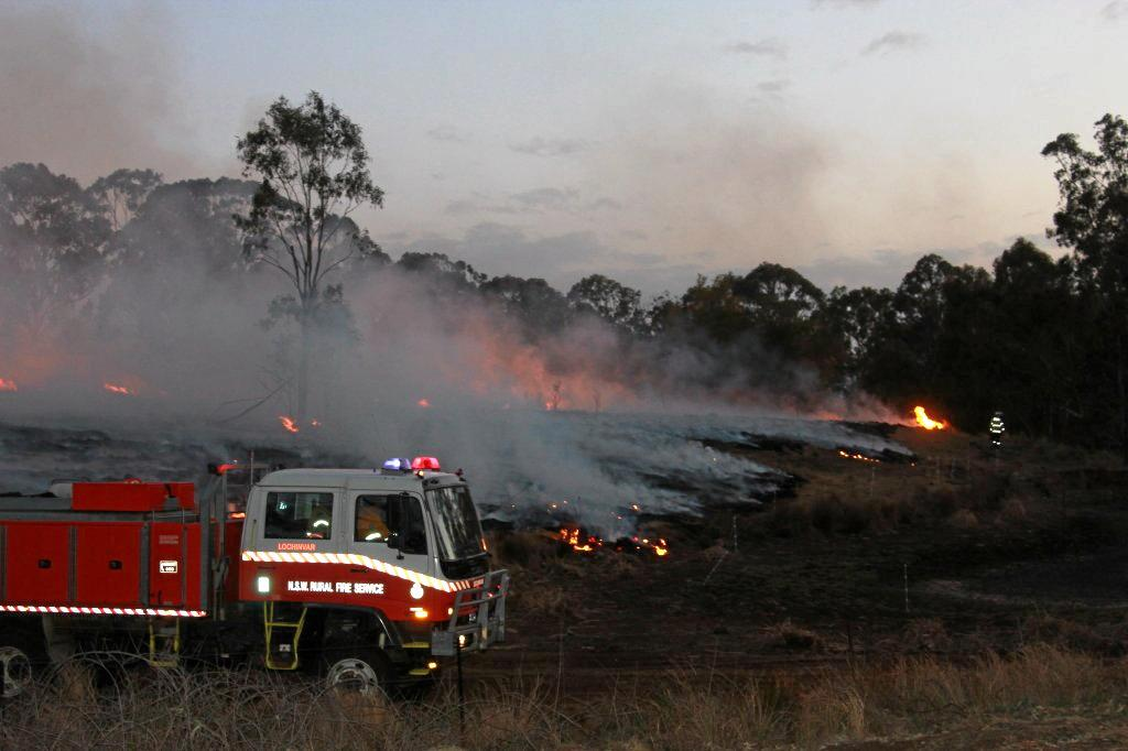 Fires have burnt across Southern Downs and Border areas for the past 10 days.