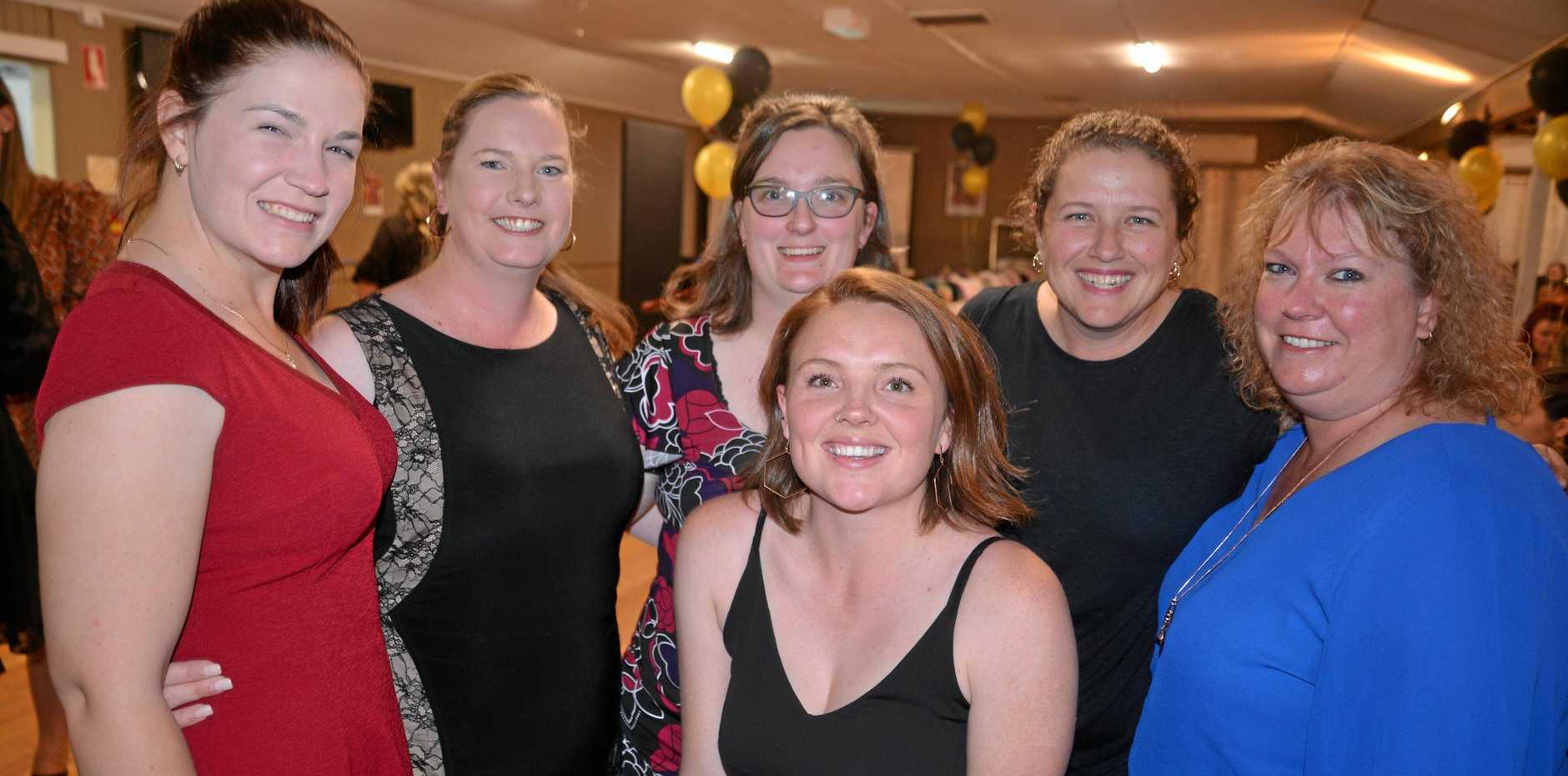 Shelley's Steelers (from left) Katie McCormick, Letitia Stuart, Zandie Stuart, Georgia Venables, Jayne Shelley and Leanne Lockhart.