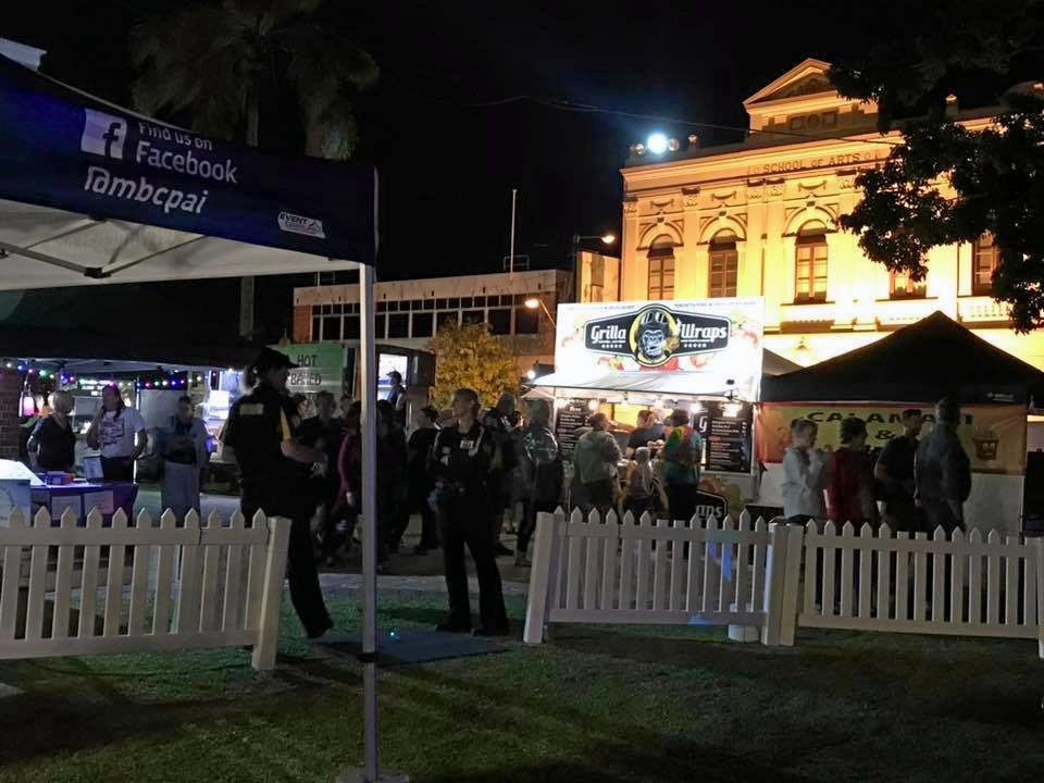WIN WIN: Maryborough CBD Street Party coincided with the Fraser Coast Technology Challenge.
