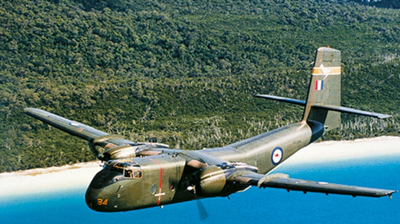 35 Squadron Caribou Aircraft, 1969.