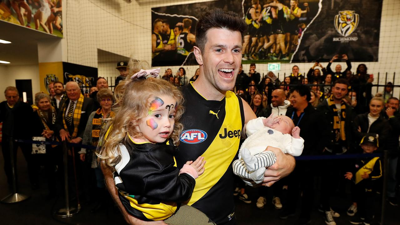 Trent Cotchin has battled through an injury plagued season.