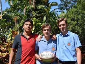Nicholas Matauiau, Carter Wight and Spencer