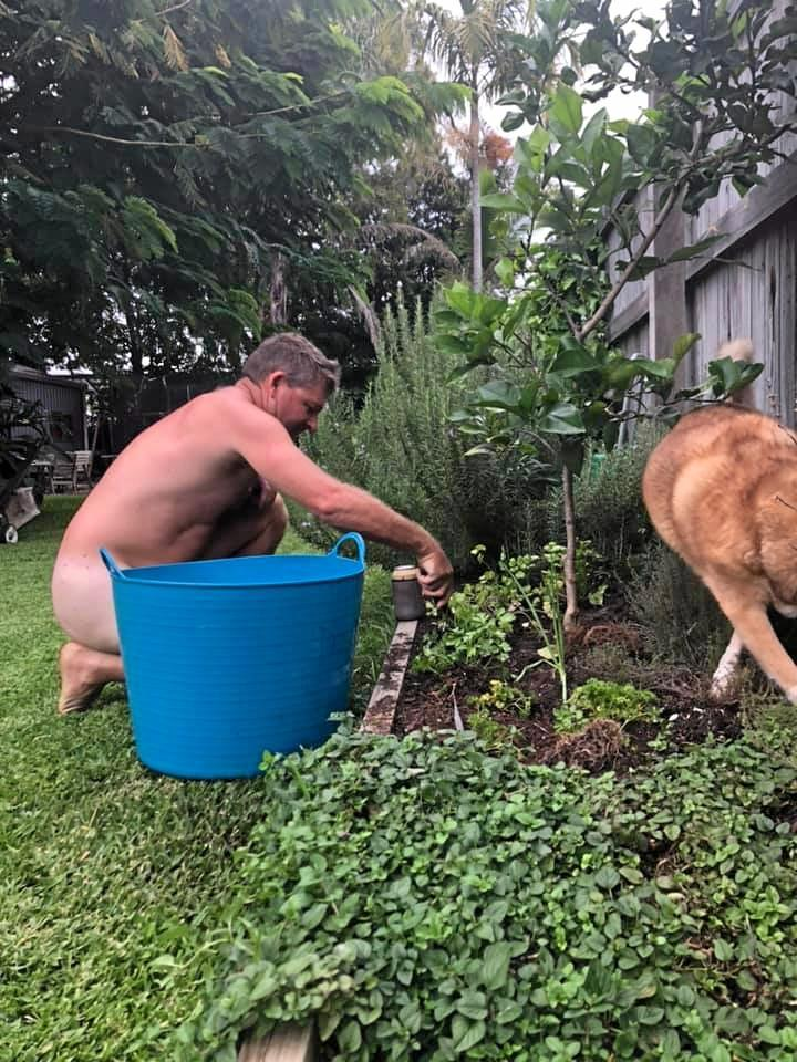 World Naked Garden Day