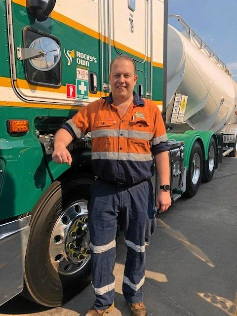 WHAT UPSKILLING CAN DO: Mathew Wright loves working at Rocky's Own.