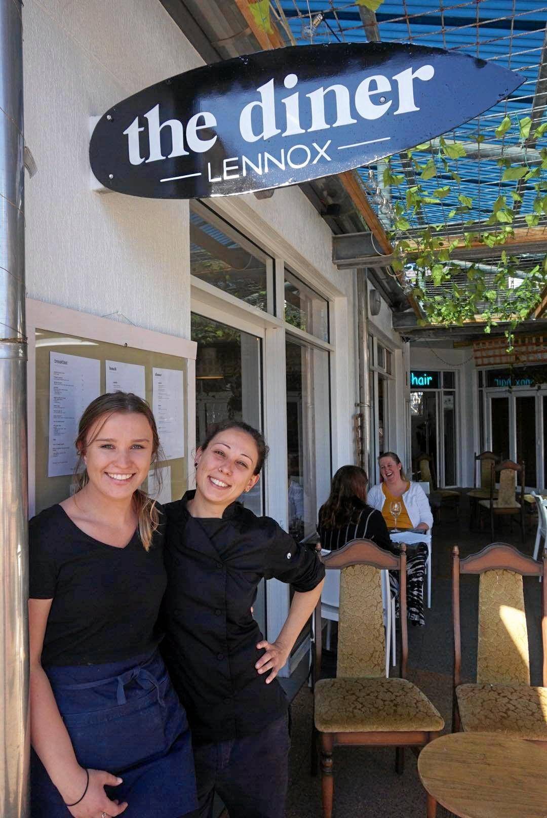 DINE WITH ME: Nikki Fury and Giulia Meneghini from The Diner at Lennox Head.