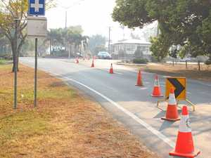 Work begins on busy intersection
