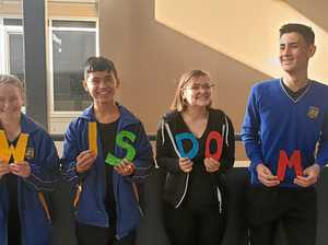 Bremer students shine at Opti-Minds competition