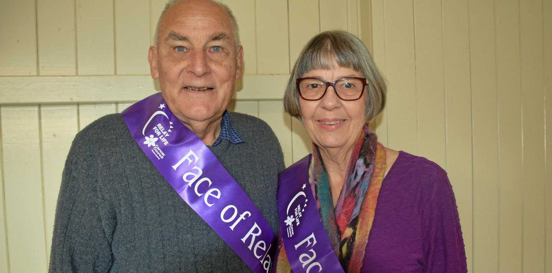 Eric and Carla Cross are this year's South Burnett Relay For Life Face of the Relay representatives.