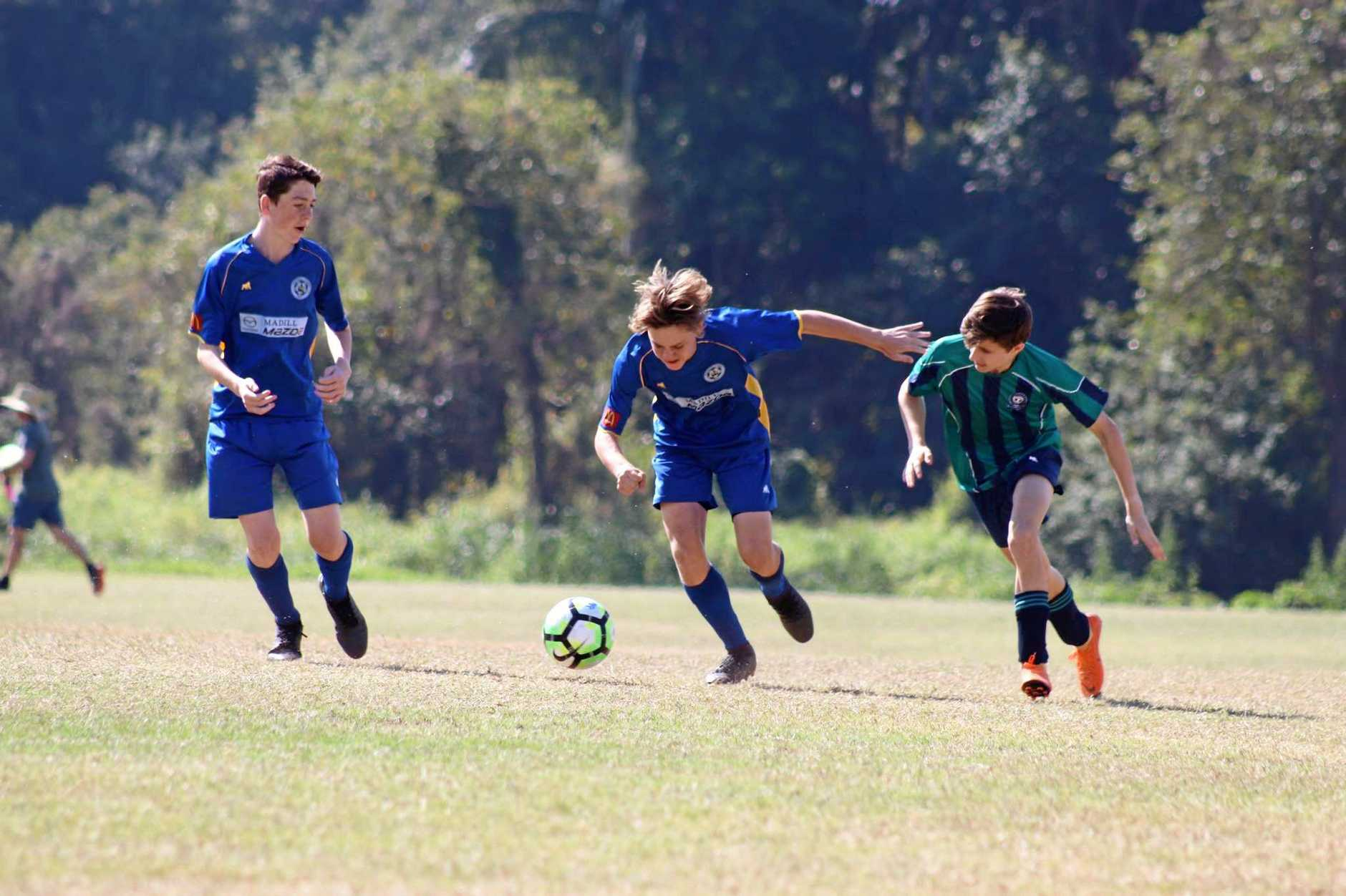 Gympie United Gladiators under-15s  defeat Flinders 2-1 to claim title.