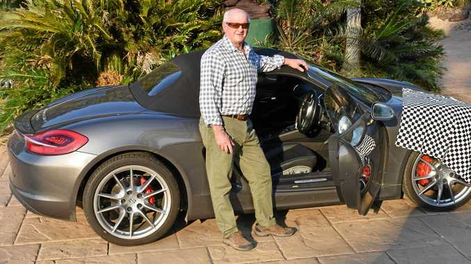 My Porsche will beat your 'old' Mustang