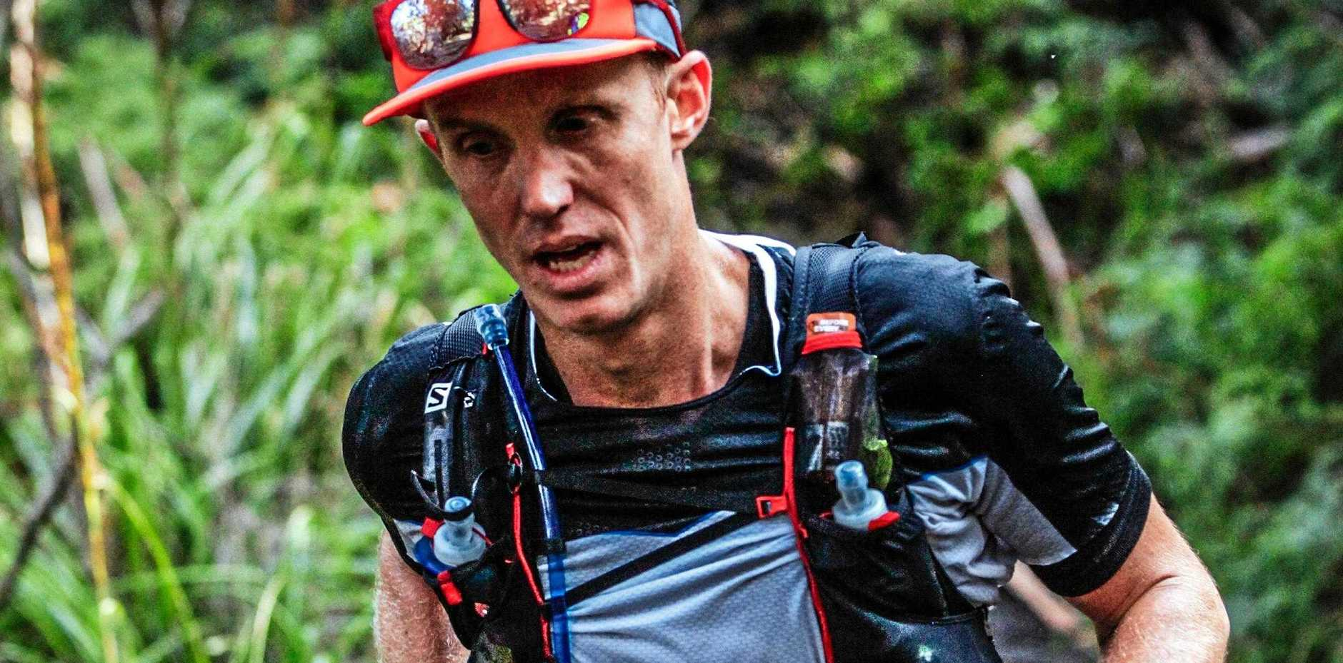 Airlie Beach ultra-distance runner Chris Murphy completed the Run the Great Whitsunday Trail 57.4km race this year.