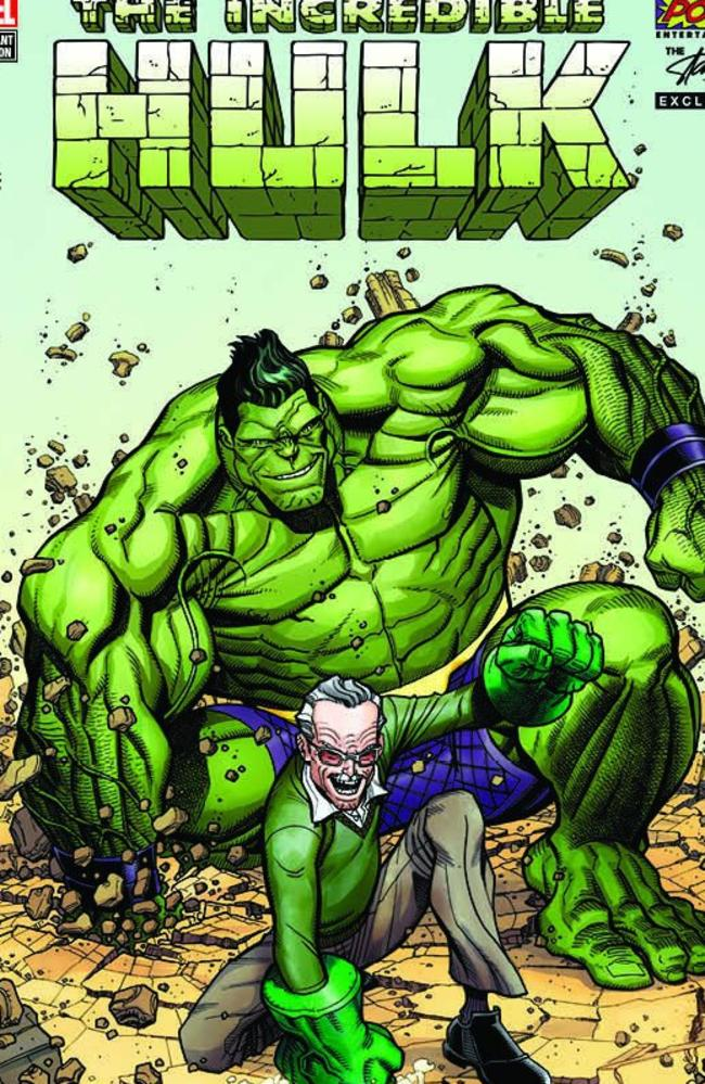 Stan Lee takes off The Incredible Hulk in Marvel Comics.